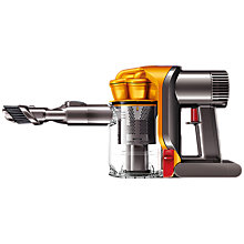 Buy Dyson DC34 Complete Handheld Vacuum Cleaner, Yellow Online at johnlewis.com
