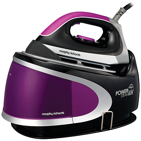 Buy Morphy Richards Power Steam Elite Steam Generator Iron, Purple Online at johnlewis.com