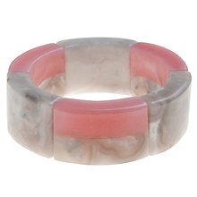 Buy Lola Rose Asher Pink Grace Quartzite Madagascar Eye Stone Cuff Online at johnlewis.com
