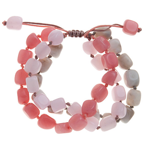 Buy Lola Rose Lucerne Triple Row Friendship Bracelet Online at johnlewis.com