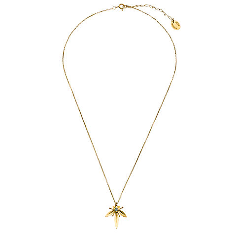 Buy Alex Monroe Cummersdale 22ct Gold Vermeil Topaz Pendant Online at johnlewis.com