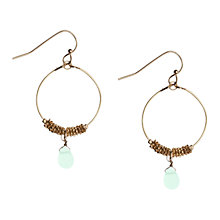 Buy Orelia Gold Toned Pacific Opal Chain Wrap Hoop Earrings Online at johnlewis.com