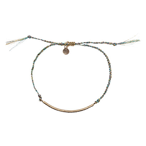 Buy Orelia Gold Toned Diamante Bar Friendship Bracelet Online at johnlewis.com