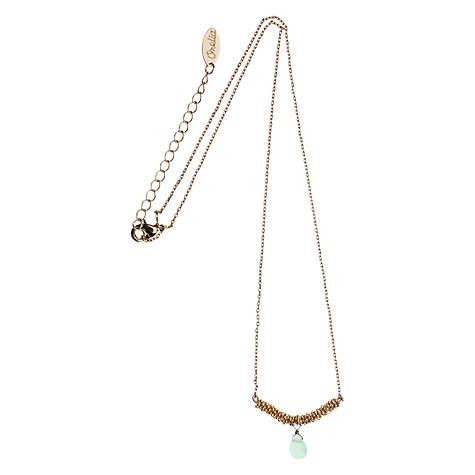 Buy Orelia Gold Toned Pacific Opal Chain Wrap Pendant Necklace Online at johnlewis.com