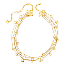 Buy Dinny Hall 22ct Gold Vermeil Talitha Necklace Online at johnlewis.com