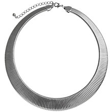 Buy John Lewis Silver Toned Flex Necklace Online at johnlewis.com