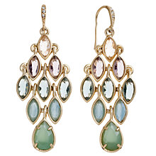 Buy Carolee Gold Toned Ombre Chandelier Drop Earrings Online at johnlewis.com