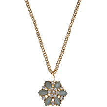 Buy Carolee Gold Toned Flower Pendant Necklace Online at johnlewis.com