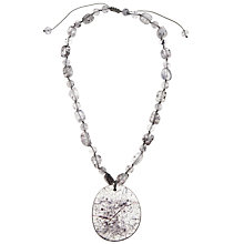 Buy Lola Rose Aubree Smoked Rock Crystal Pendant Necklace Online at johnlewis.com