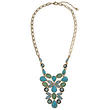 Buy Carolee Gold Toned Glass Crystal Y Drop Necklace Online at johnlewis.com