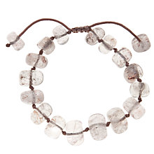 Buy Lola Rose Fern Smooth Bead Friendship Bracelet Online at johnlewis.com