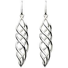 Buy Kit Heath Sterling Silver Eternal Drop Earrings Online at johnlewis.com