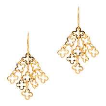 Buy Dinny Hall 22ct Gold Vermeil Talitha Small Motif Drop Earrings Online at johnlewis.com