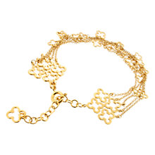 Buy Dinny Hall 22ct Gold Vermeil Talitha Bracelet Online at johnlewis.com