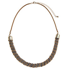 Buy John Lewis Gold And Silver Toned Mesh Wrap Necklace Online at johnlewis.com