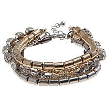 Buy John Lewis Silver Toned Layering Bracelet Online at johnlewis.com