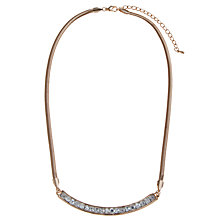 Buy John Lewis Diamante Bar Necklace Online at johnlewis.com