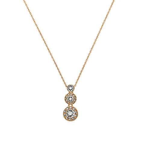 Buy Cachet London Rose Gold Plated Swarovski Crystal Diablo Pendant Online at johnlewis.com