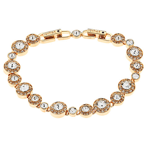 Buy Cachet London Rose Gold Plated Swarovski Crystal Diablo Bracelet Online at johnlewis.com