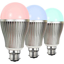 Buy Hasled 6W BC LED Colour Changing Wifi Controlled Bulb Online at johnlewis.com