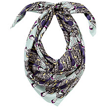 Buy John Lewis 150 Years 20's Print Silk Square Scarf Online at johnlewis.com