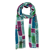 Buy John Lewis Birdcage Print Scarf, Multi Online at johnlewis.com