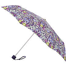 Buy John Lewis Daisychain Print Mini-Lite Umbrella, Magenta Online at johnlewis.com