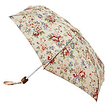 Buy Cath Kidston Tiny Folding Floral Spray Umbrella, Cream Online at johnlewis.com