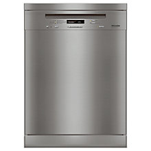 Buy Miele G6310 SC Dishwasher, Clean Steel Online at johnlewis.com