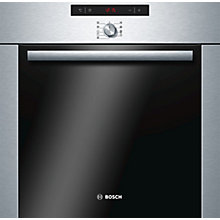 Buy Bosch Classixx HBA64B251B Built-In Single Oven, Brushed Steel Online at johnlewis.com