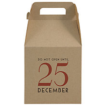 Buy East Of India Do Not Open Until 25 December Gift Box, Multi Online at johnlewis.com