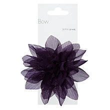 Buy John Lewis Flower Bow, Purple Online at johnlewis.com