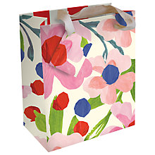 Buy Caroline Gardener Floral Gift Bag, Multi, Small Online at johnlewis.com