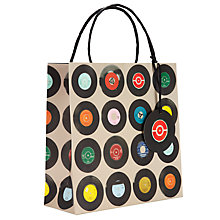Buy Ella Doran Records Gift Bag, Multi, Medium Online at johnlewis.com