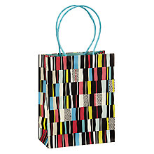 Buy John Lewis Irregular Striped Gift Bag, Small Online at johnlewis.com