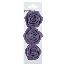 Buy John Lewis Mini Paper Bows, Lilac, Pack Of 3 Online at johnlewis.com