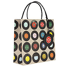 Buy Ella Doran Records Gift Bag, Large Online at johnlewis.com