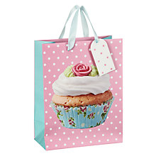 Buy John Lewis Cupcake Gift Bag, Multi, Small Online at johnlewis.com