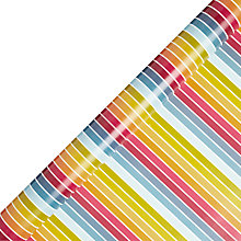 Buy John Lewis Striped Wrapping Paper, Multi Online at johnlewis.com