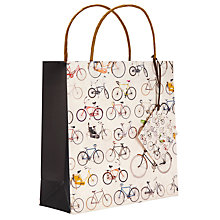 Buy Ella Doran Bicycles Gift Bag, Multi, Medium Online at johnlewis.com