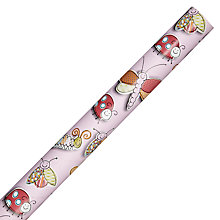 Buy John Lewis Ladybug Wrapping Paper, Pink Online at johnlewis.com