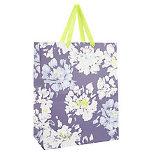 Buy John Lewis Floral Gift Bag, Multi, Medium Online at johnlewis.com