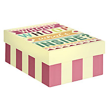 Buy Caroline Gardner Say So Gift Box, Multi, Medium Online at johnlewis.com
