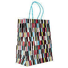 Buy John Lewis Irregular Striped Gift Bag, Multi, Medium Online at johnlewis.com