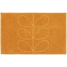 Buy Orla Kiely Stem Bath Mat, Clementine Online at johnlewis.com