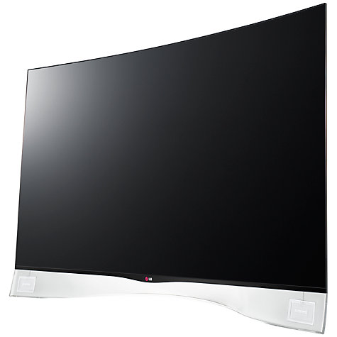 "Buy LG 55EA980W Curved OLED Full HD 3D Smart TV, 55"" with Freeview HD and 2x 3D Glasses Online at johnlewis.com"