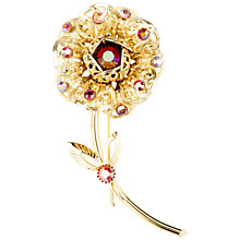 Buy Susan Caplan Vitnage 1960s Sarah Coventry Openwork Flower Brooch Online at johnlewis.com