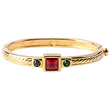 Buy Susan Caplan Vintage 1990s Swarovski Crystal Rope Bangle Online at johnlewis.com