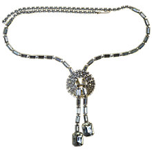Buy Alice Joseph Vintage 1950s Diamante Pendant Necklace Online at johnlewis.com