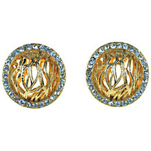 Buy Alice Joseph Vintage 1970s B.S.K. Diamante Clip On Earrings Online at johnlewis.com